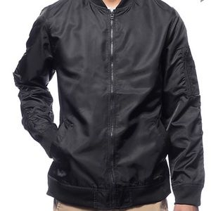 Other - Black bomber jacket men's